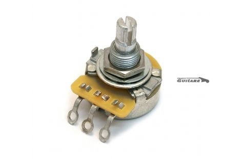 Potentiomètre Audio vintage CTS Standard 500K pour micros Simple ou Double Bobinage
