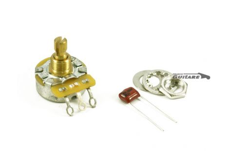 Kit Potentiomètre Guitare Fender 250K No Load