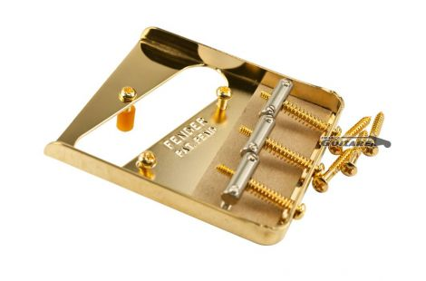 Chevalet Bridge Fender Telecaster Vintage Gold