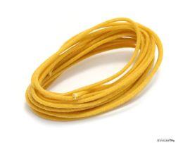 Fils de câblage électronique circuit 22 awg jaune