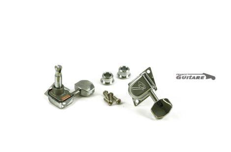 Mecaniques Strat et Tele Fender Schaller 70s logo F
