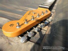 Manche Fender Stratocaster Mexico Road Worn 60s avec Tuners Relic