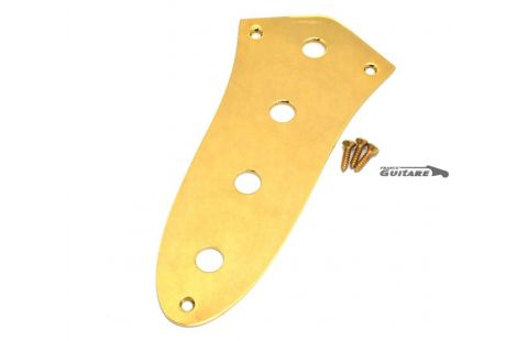 Plaque de contrôle Fender® Jazz Bass Nickel finition Gold