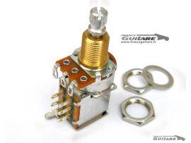 Potentiomètre CTS USA Push Pull 500K Audio Vintage pour Strat et Tele