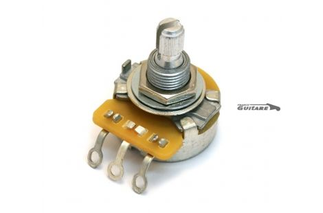 Potentiomètre CTS Audio 1 MEG Axe Fendu guitare et basse Fender®