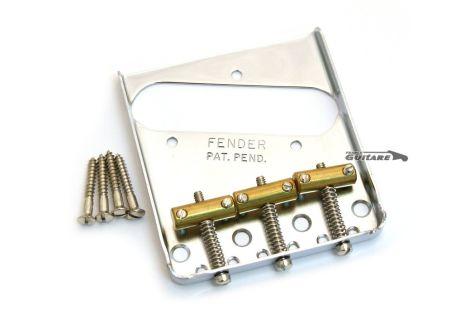 Chevalet Fender Telecaster Broadcaster Vintage 3 pontets made in USA