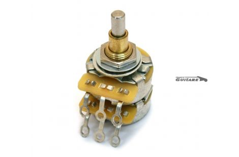 Potentiomètre Concentrique Double Audio CTS 250K/500K pour Telecaster et Jazz Bass