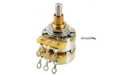 Potentiomètre Concentrique Double Audio CTS 500K-500K Telecaster