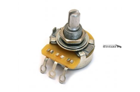 Potentiomètre CTS 250K Audio Standard No Load pour guitare et basse
