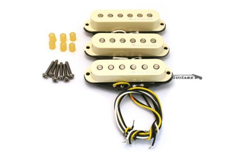 Jeu de micros Fender Stratocaster Hot Noiseless Deluxe USA