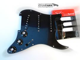 Loaded Pickguard Stratocaster American Special Black FSR