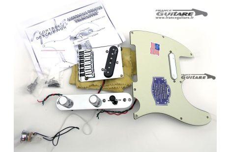 Pickguard Précâblé Fender Telecaster American Deluxe N3 Noiseless