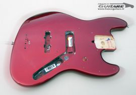 Corps Jazz Bass Fender American Standard Candy Apple Red