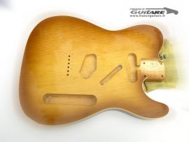 Corps Telecaster en Pin Maritime Honey Burst Closet Clean Aged Finish