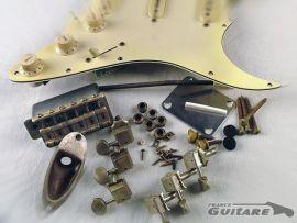 Kit Accastillage Hardware Aged Relic Fender Stratocaster Vintage MJT