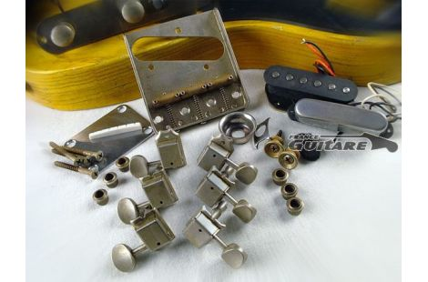 Kit Hardware Relic Telecaster Fender Accastillage