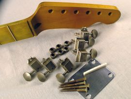 Kit Hardware Aged Relic MJT pour Manche Relic Telecaster Fender