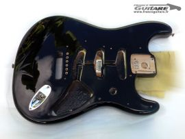 Corps Stratocaster Fender Classic Series 60s Black Noir Mexico