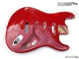 Corps Fender Stratocaster Eric Johnson Dakota Red Nitro