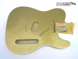 Corps Telecaster Custom 62 Bound Allparts Aztec Gold Aged Closet Clean