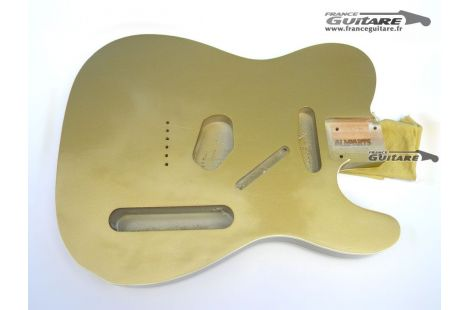 Corps Telecaster Custom 62 Allparts MJT Aztec Gold relic