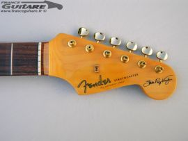 Kit Manche Stratocaster Stevie Ray Vaughan avec Accastillage Gold complet