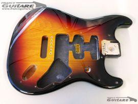 Corps Stratocaster Fender Deluxe Player Sunburst 3 tons
