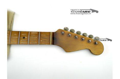 Manche Allparts Stratocaster 57 Heavy Relic avec Tuners
