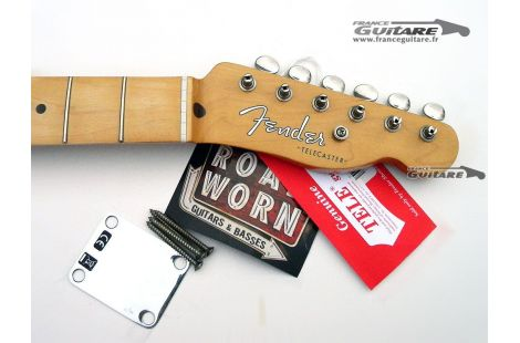 Manche Telecaster Road Worn 50s Light Relic avec Hardware