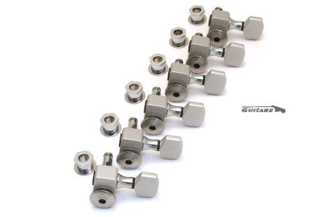Mecaniques Sperzel autobloquantes 6T polish chrome