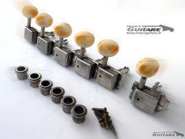 Mecaniques Kluson Vintage Relic Strat Tele Boutons Plastique