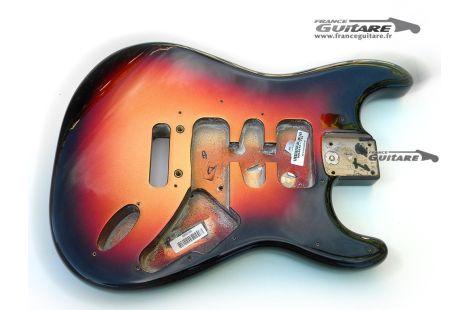 Corps Stratocaster American Standard FSR Metallic Sunburst 3 Tons