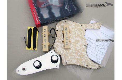 Loaded Pickguard Jazz Bass American Vintage 62 Aged White