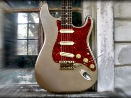 Kit Guitare Relic Complet Stratocaster Rock and Roll Relics sous licence Fender