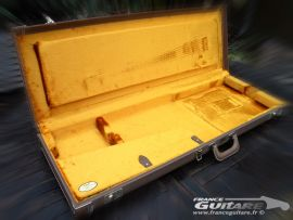 Etui Fender Flight Case Strat et Tele G and G Brown Tolex type 60s