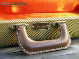 Etui Guitare Fender Flight Case Tweed G&G Eric Clapton