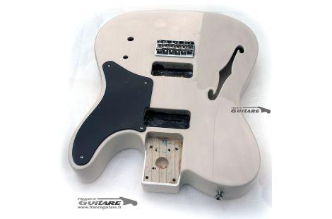Corps Fender Cabronita White Blonde thinline