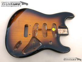 Corps Stratocaster Sunburst Classic Player 50s Aulne