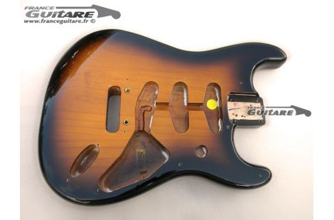Corps Stratocaster Sunburst Classic Player 50s Aulne