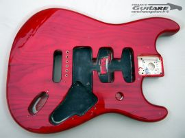 Corps Stratocaster Fender Deluxe Player Crimson Red
