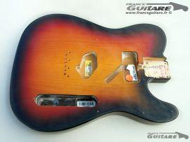 Corps Fender Telecaster American Special Sunburst Nitrocellulosique thin skin
