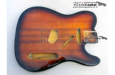 Corps Fender Telecaster Japan Select Koa Tobacco Sunburst