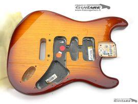 Corps Fender Stratocaster American Deluxe Tobacco Honey Burst