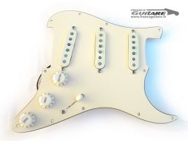 Loaded Pickguard Stratocaster Aged White David Gilmour Push Pull