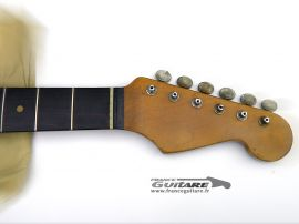 Manche Allparts Stratocaster 59 Palissandre Aged Relic avec Tuners