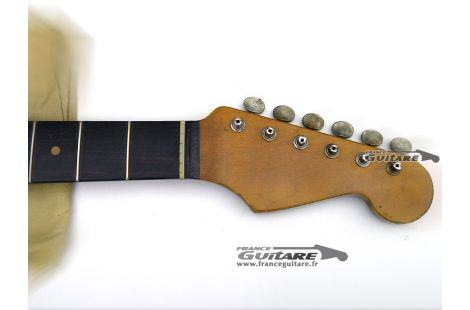 Manche Allparts Stratocaster 59 Palissandre Relic avec Tuners