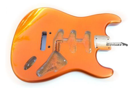 Corps Stratocaster Licence Fender Candy Tangerine