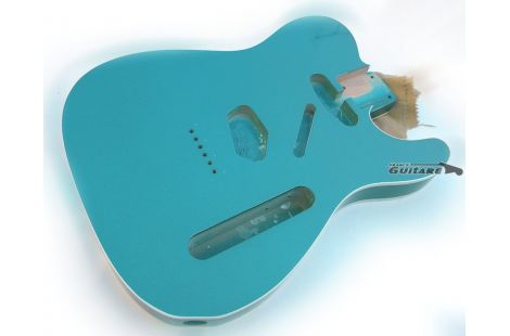 Corps Telecaster 1962 Ocean Turquoise Aged Closet Clean Double Bound