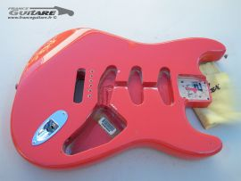 Corps Stratocaster Fender Classic Series 50s Fiesta Red