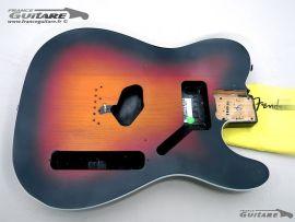 Corps Fender Telecaster Squier Classic Vibe 60s Series 62 Sunburst